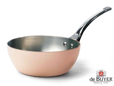 Sartén De Buyer cobre cónica 20cm prima matera ...