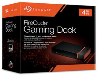 Disco duro externo Seagate Firecuda gaming dock ...