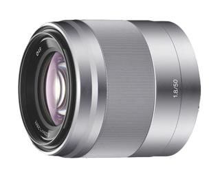 Sony Len E50 mm F1.8 Steadyshot Optic