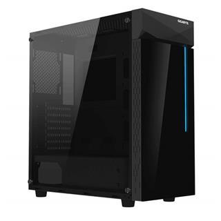 CAJA SEMITORRE GIGABYTE ATX C200 GLASS BLACK RGB ...