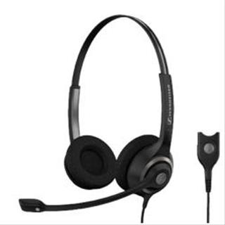 Auriculares Sennheiser SC 260 binaural h/set w/easy disconnect
