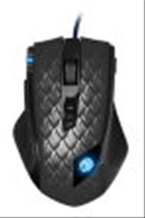 Raton Sharkoon Drakonia Black USB Laser 8200DPI mano derecha Neg