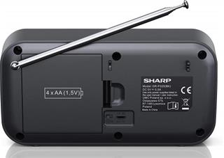 SHARP DR-P320(BK) RADIO DIGITAL PORTÁTIL