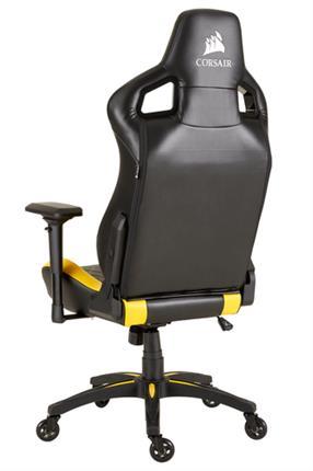 Silla gaming Corsair T1 Race 2018 Edition negra/amarilla