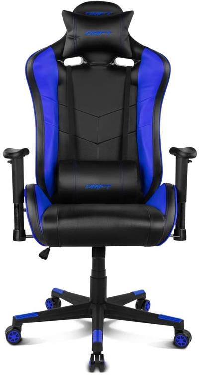 Silla gaming Drift DR85BL negro/azul