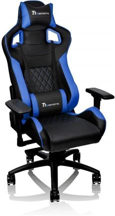 Silla gaming Thermaltake GT Fit eSPORTS ajustable negra/azul