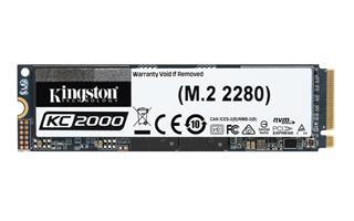 MEMORIA SSD KINGSTON NVME KC2000 M.2 500GB