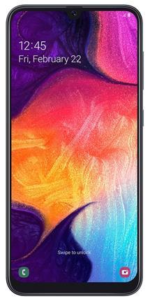 "SmartPhone SAMSUNG GALAXY A50 6.4"" 4GB 128GB  Negro"
