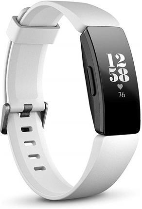 Smartband Fitbit Inspire HR blanca/negra