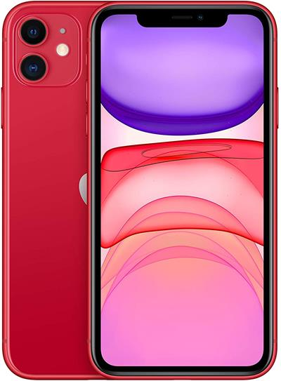 "Smartphone Apple iPhone 11 64GB 6.1"" rojo"