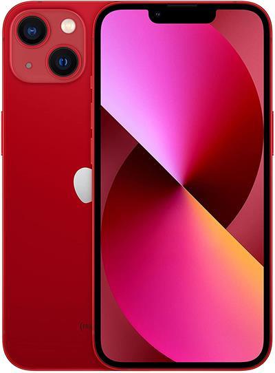 "Smartphone Apple iPhone 13 5G 256GB 6.1"" rojo"
