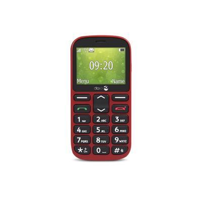 """Smartphone DORO 1361 8MBRAM 2.4"""" Rojo"""