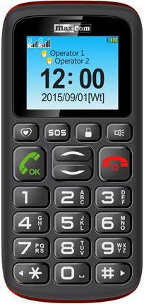 """Smartphone MAXCOM COMFOR PHONE 2G DE 1.8"""" BLACKR  ..."""