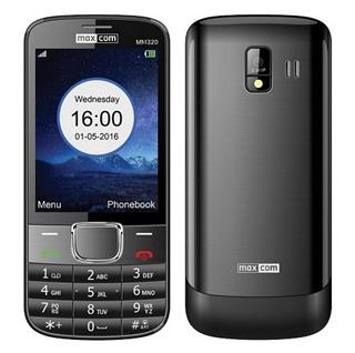 "Smartphone MAXCOM FEATURE PHONE 2G PANT 3.2"" BLAC ..."
