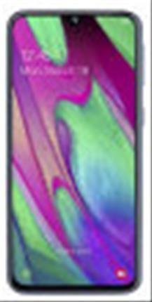 "SMARTPHONE SAMSUNG A40 BLACK 64GB 5.9"""