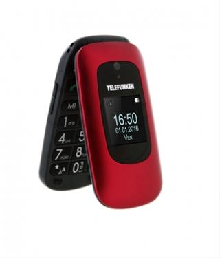 """Smartphone Telefunken TM250 32GB 2.4"""" Rojo"""