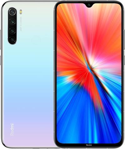 Smartphone Xiaomi Redmi Note 8 2021 4GB 64GB 6.3' blanco