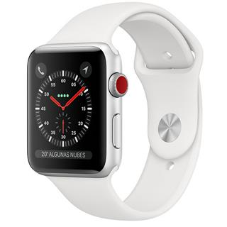 SmartWatch Apple Watch Series 3 GPS + 4G 42mm Aluminio Plata + C