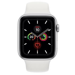 Smartwatch Apple Watch Series 5 GPS 44mm aluminio plata con corr