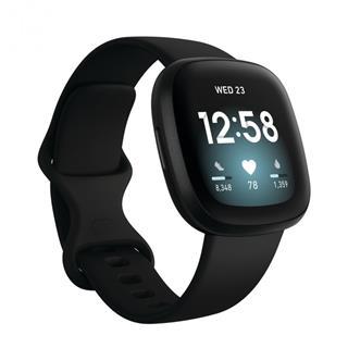 Smartwatch Fitbit Versa 3 negro/aluminio negro