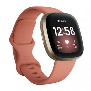 Smartwatch Fitbit Versa 3 rosa/aluminio dorado