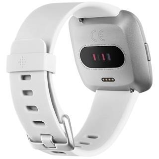 Smartwatch Fitbit Versa Lite Blanco y plateado