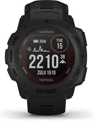 Smartwatch Garmin Instinct Solar Tactical negro