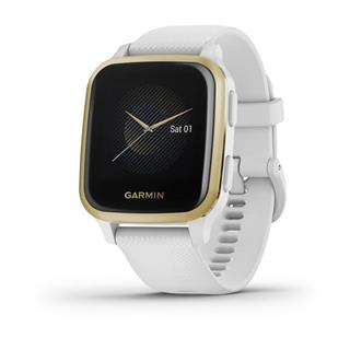 SMARTWATCH GARMIN VENU SQ WHITE/LIGHT GOLD