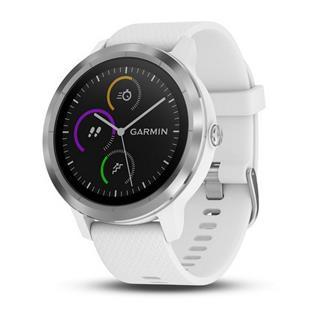 Smartwatch Garmin Vivoactive 3 plata/blanca