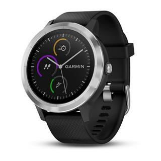 Smartwatch Garmin Vivoactive 3 plata/negra