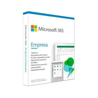 Software Microsoft Office 365 Business Standard 1 usuario 1 año 5 dispositivos