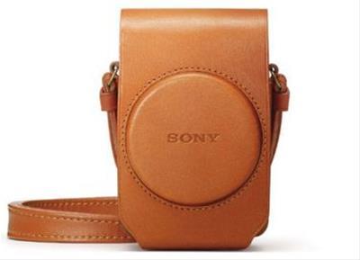 Sony LCS-RXGT Funda para cámara marrón