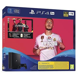 Sony PlayStation 4 Pro 1TB + FIFA 20 Ultimate Team + PS Plus 14