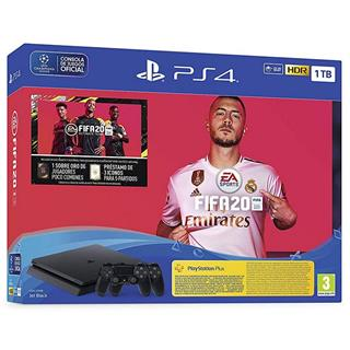 Sony PlayStation 4 Slim 1TB + FIFA 20 Ultimate Team + PS Plus 14