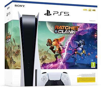 Sony Playstation 5 Disc Version + Ratchet & ...