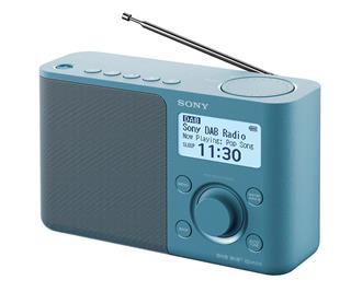 SONY XDR-S61D AZUL RADIO DAB/DAB+ PORTÁTIL CON PANTALLA LCD PRES