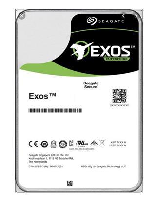 Seagate Exos 16TB 6Gb/s SATA 7.2K 512e/4Kn 256Mb