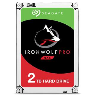 SEAGATE IRONWOLF PRO 2TB SATA          3.5IN 128MB ENTERPRISE N