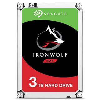 SEAGATE IRONWOLF 3TB NAS               3.5IN 6GB/S SATA 64