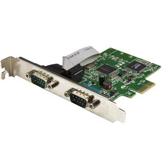STARTECH 2-port pci express serial card  ...