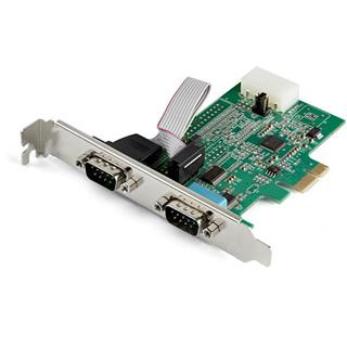 Startech TARJETA PCI-E SERIE 2 PUERTOS