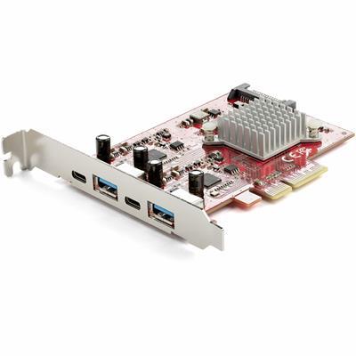 STARTECH TARJETA PCIE 4 PUERTOS USB 3.1  2X USB-C ...