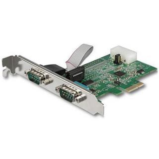 Startech TARJETA PCIE SERIE 2 PUERTOS