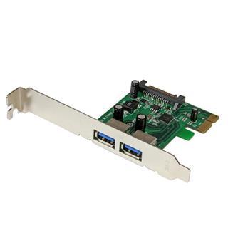 STARTECH.COM 2PORT USB 3 PCIE CONTROLLER     CARD W/ UASP - 5GBP