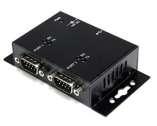 STARTECH.COM CONCENTRADOR 2 PUERTOS SERIE A USB ADAPTADOR HUB MO