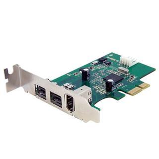 STARTECH.COM TARJETA FIREWIRE 2 PUERTOS  800 1 PUERTO 400 PCI EX