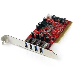 STARTECH.COM TARJETA PCI 4 PUERTOS USB 3.0   ...