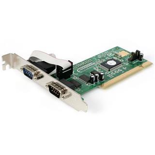 STARTECH.COM TARJETA PCI DE 2 PUERTOS DB9    SERIE RS232 UART 16