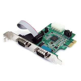 STARTECH.COM TARJETA PCI EXPRESS 2 PUERTOS   SERIE RS232 UART 16