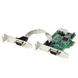 STARTECH.COM TARJETA PCI EXPRESS 2 PUERTOS   SERIE PERFIL BAJO R